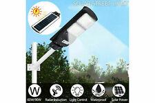 LAMPIONE STRADALE E PER GIARDINO AD ENERGIA SOLARE A LED LAMPIONE FOTOVOLTAICO