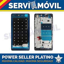 Carcasa Trasera Marco Intermedio para Huawei P8 Lite Negra Gris Titanio Chasis