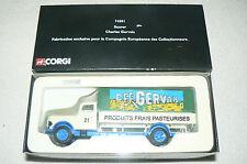 Camion CORGI SAURER Charles Gervais ETAT NEUF + boite ref : 74501