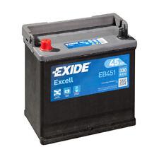 EXIDE EB451 BATTERIA AUTO EXCELL 45AH 330EN DI SPUNTO 12V POSITIVO SX B1