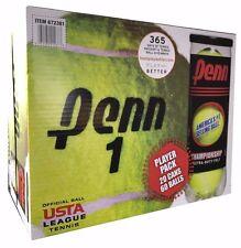 Penn Championship Tennis Balls 20 Cans Extra Duty Felt 60 Ball Pack