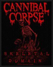 Cannibal Corpse-A scheletrici Domain PATCH RICAMATE brutalmente death metal heavy nuovo