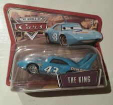 CARS Disney pixar THE KING 43 mattel world of cars short card introvabile 1:55