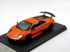 Fline Lucky Model, Lamborghini Murcielago lp670-4 SV 2009 Orange 1/43 High Tech