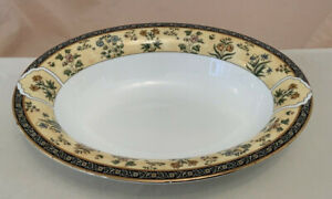 """Wedgwood INDIA VEGETABLE DISH 9.75"""" RARE VERSION Oblong (bowl, serving tray)"""