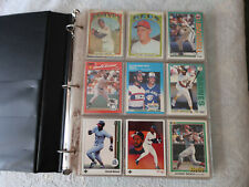 Baseball card album with 71 Hall of Fame players (251 cards total)-FREE SHIPPING