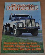 Historischer Kraftverkehr HIK 2/92 Scania Schlepper MAN LKW Opel Blitz Unimog