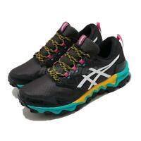 Asics GEL-FujiTrabuco 8 G-TX Gore-Tex Black Turq Pink Women Running 1012A573-003