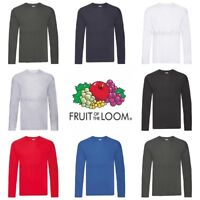 Fruit of the Loom Original Long Sleeve T-Shirt