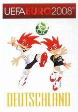 Panini Sticker Fußball Euro 2008 Nr. 202 DEU Deutschland Mascots / Maskottchen