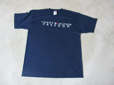 VINTAGE Tommy Hilfiger Shirt Adult Extra Large Blue Freedom Spell Out Mens 90s