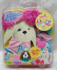 New Pucci Pups Puppy Clothing Sports Party Sets 2 Outfits & Accessories 6 Pcs