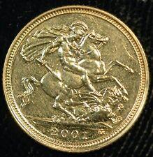 More details for half sovereign 2001 gold elizabeth ii 21st birthday gift ? (t112)