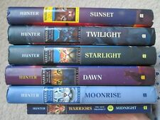 NEW PROPHECY WARRIORS LOT 1-6~Erin Hunter~HCDJs~Sunset~Starlight~Twilight~Dawn~