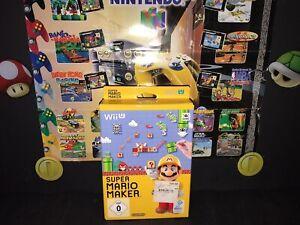 NINTENDO Wii U || SUPER MARIO MAKER + BOOKLET || BLITZVERSAND & GARANTIE ||