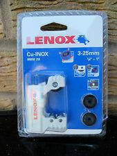 Lenox Mini Cutter 3-25mm + FREE LENOX T - SHIRT