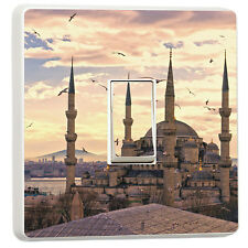 The Blue Mosque, Sultanahmet Camil Istanbul photo light switch sticker (8955354)