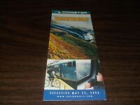 MAY 2000 COASTER PUBLIC TIMETABLE