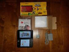 Nintendo 3DS XL Limited Edition 1GB Red Console +Super Mario DS SHIPS FREE!!!