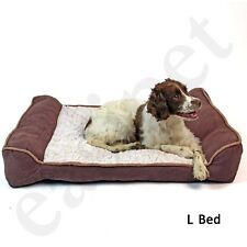 Deluxe Orthopaedic Soft Dog Pet Warm Sofa Bed Pillow Cushion Chair Large Easipet