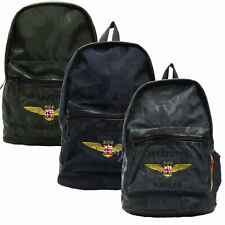 Zaino Backpack AVIAZIONE NAVALE della MARINA MILITARE Unisex 44X31X15 CM Verde G