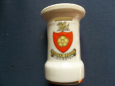 LEICESTER COAT OF ARMS CRESTED WARE PILLAR BOX POSTBOX