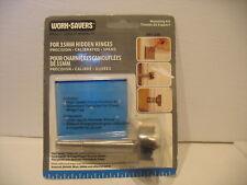 35mm Hidden Euro Hinge Forstner drill boring bit  template wood cabinetry bore