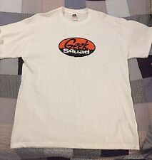 GEEK SQUAD WHITE T-Shirt XL