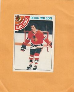 1978-79 O PEE CHEE DOUG WILSON ROOKIE NO:168  Ex cond   see scan      a