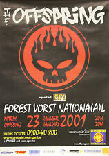 """THE OFFSPRING (Concert FOREST VORST NATIONAL)"" Affiche originale 2001"