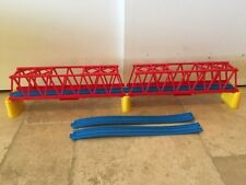 Thomas Train Tomy Trackmaster Ultimate Set - Double Red Girder Suspension Bridge