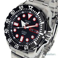 Seiko 5 Sports AUTOMATIC Divers Stile Black Face srp603k1 srp603