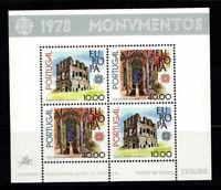 Portugal 1978 Mi. Bl. 23 Block 100% Postfrisch Europa CEPT, Kathedrale