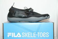 a68fb06486c FILA Skele-toes EZ Slide Drainage Mens Size 7 Black Walking Shoes EU 40