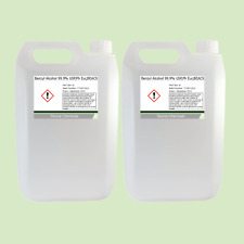 Benzyl Alcohol 99.9% USP,Ph Eur,BP,ACS 2 x 5 Litre (10L)