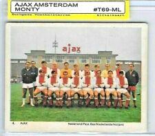 1969 AJAX Amsterdam Team Card / MONTY GUM LEIDEN