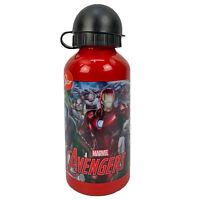 Botella Marvel Avengers Botella En Aluminio Con Caño 400 ML 1618