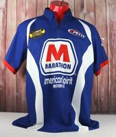 Nascar Team Kyle Petty Crew Shirt Jersey Marathon Nextel Mens Large
