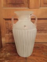 Vintage Vetreria Operaia LUX Large Art Glass Vase Made In Italy