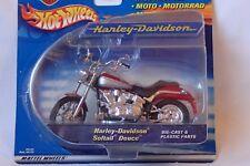 MOTO HARLEY DAVIDSON SOFTAIL DEUCE 1/18 HOT WHEELS / MATTEL