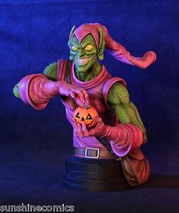 Green Goblin Mini Bust 267/500 Gentle Giant Marvel Spider-Man NEW SEALED