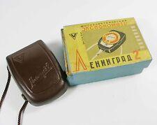USSR Rare Russian USSR Leningrad 2 light meter Case and box