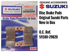 FRONT SET DISC BRAKE PADS GENUINE SUZUKI GSXR600 GSX-R600 K4 K5 (04-05)