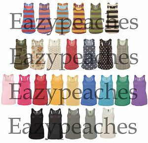 Alternative Apparel Ladies S-XL Meegs Eco Jersey Racerback Tank Top T-Shirt Tee