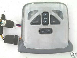 FORD PROBE GRAY SUNROOF SWITCH & DOME LIGHT SW