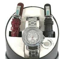 New Authentic womens joe rodeo Rio white JRO1 1.25ct.aprx.140 real diamond watch