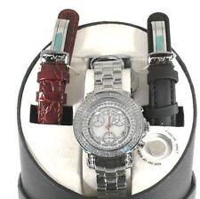 New Authentic womens joe rodeo Rio white JRO1 1.25ct.aprx.140 real diamond watch