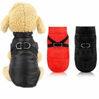 Dog Jacket Vest Waterproof Warm Harness Design Puppy Cat Coat Pet Costume XS-2XL