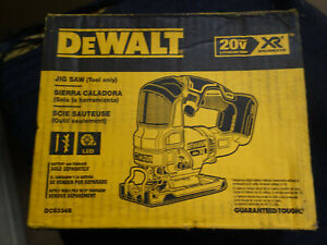 Brand New DeWALT DCS334B MAX XR Cordless Jig Saw  20V Brushless (Tool Only)