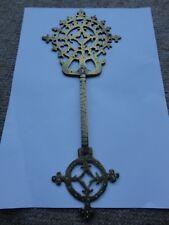 Antique Cross African Ethiopian Priests Coptic Brass Eritrean Africa
